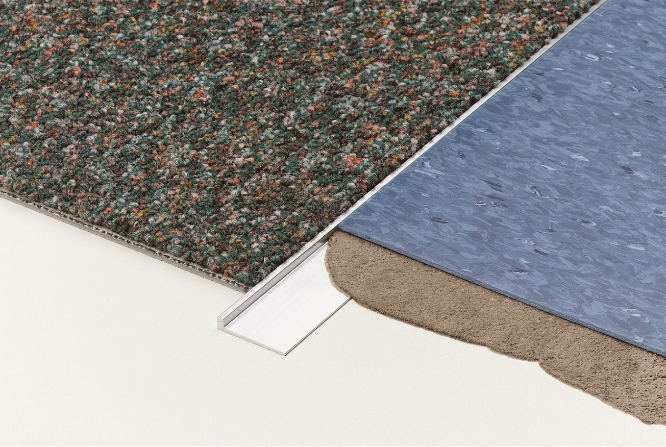 Carpet to vinyl transition trim carpet vidalondon for Carpet and vinyl flooring