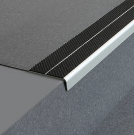 Stairnosing Floor Amp Wall Finishing Trims The Edge On Safety Tredsafe